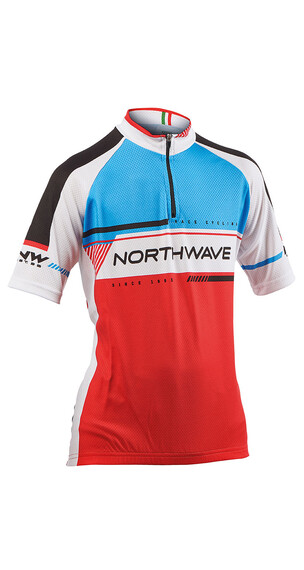 Northwave Logo Kid 2 SS Jersey Red